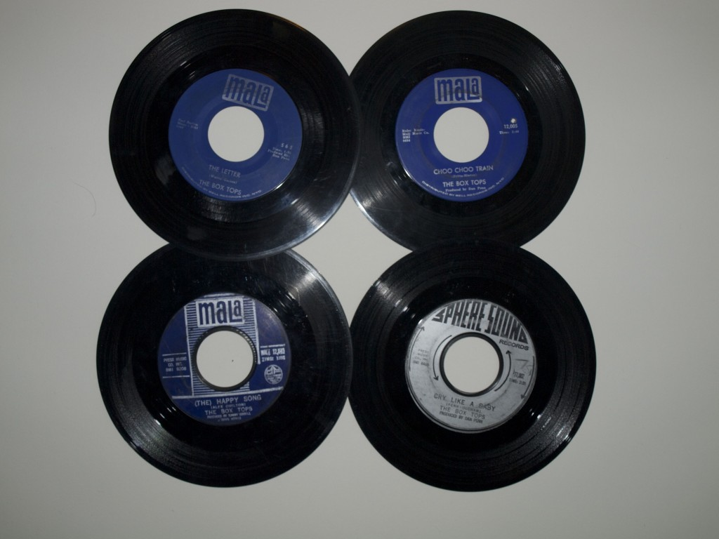 45 RPM records by The Box Tops
