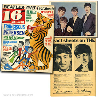 16 Magazine May 1964 issue